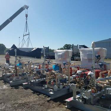Westlink Logistics Santos Skids