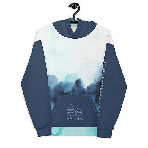 WMNS Blue Green Aura Fleece Hoodie