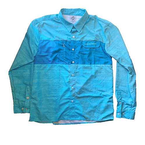 Downstream Long Sleeve Button Up Fishing Shirt