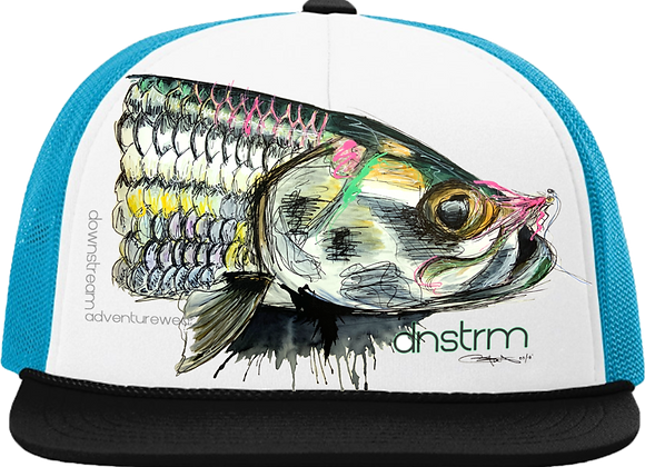 Downstream Streett's Tarpon Foam Trucker