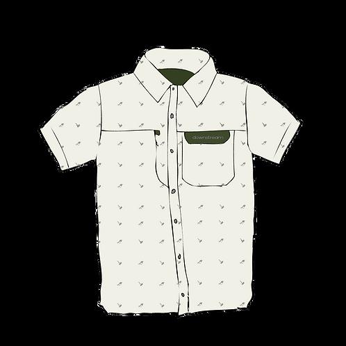 MNS/UNI Short Sleeve A/C Button Up