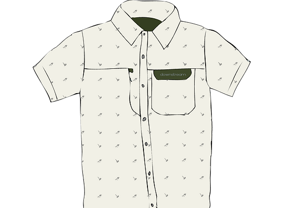 MNS/UNI Short Sleeve A/C Button Up