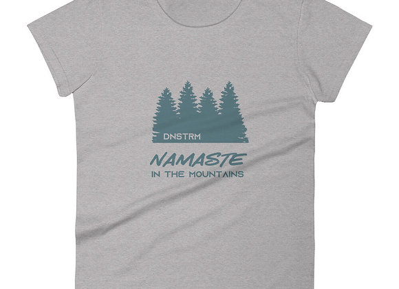Downstream Womens Namaste in the Mountains Tee