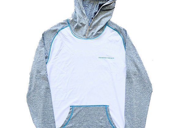 Downstream Men's Sun Hoodie