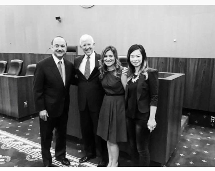 with Ralph de la Vega, CEO of AT&T -