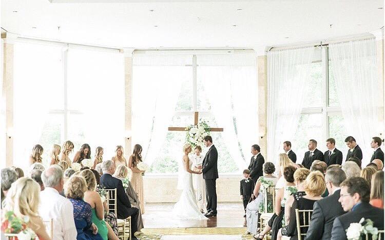 Gorgeous Wedding ceremony at Piedmont Room