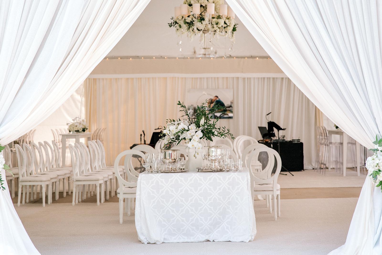Wedding venue set- Jamison