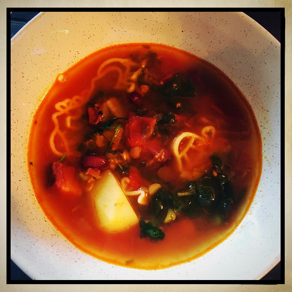 Minestrone Soup Barefoot FarmHer Style