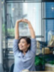Beautiful Asian woman become an office s