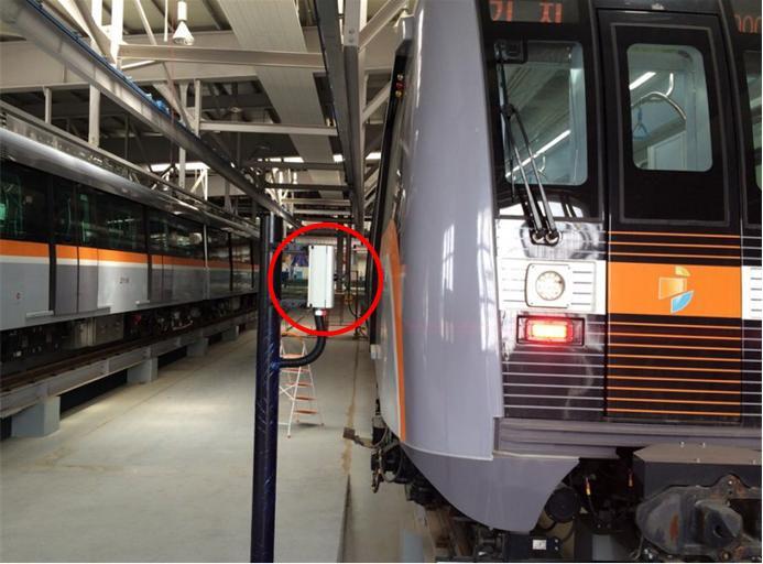 Train detector, RA-301, RA-302, magnetic sensor