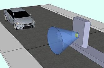 Car detection sensor CARDET-301