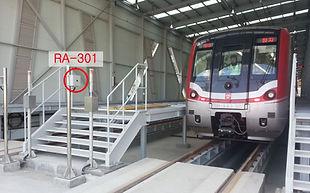 Train detecting sensor RA Series