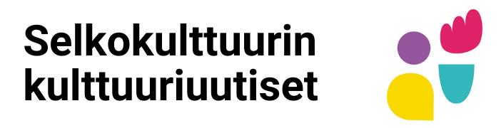 Selkokulttuurin kulttuuriuutisten logo