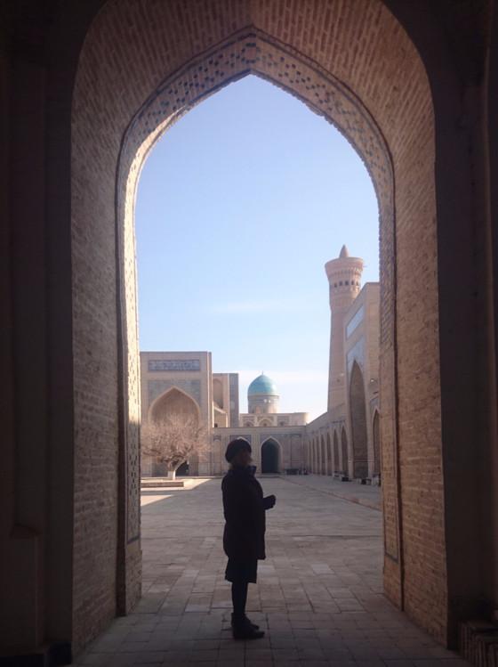 Being a Big Girl in Uzbekistan!