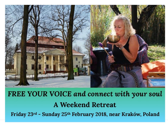 FREE YOUR VOICE and connect with your soul: Poland