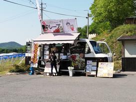 GFクレープのPU-ANが岡山乗馬倶楽部のイベントに出店しました。