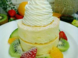 フリュティエ青江店で米粉パンケーキ開始!