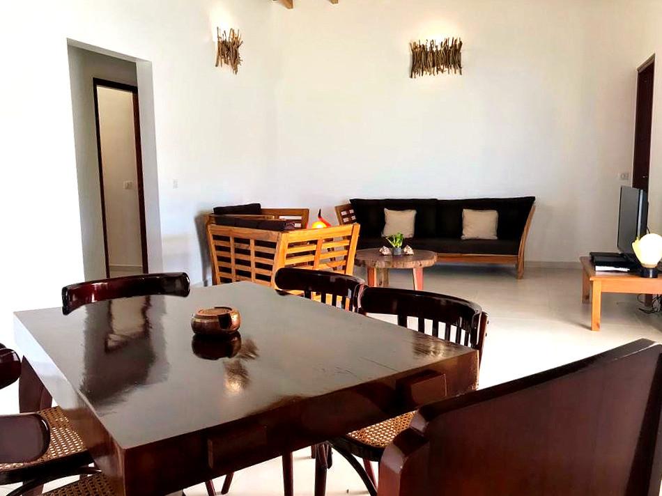 Villa stefie vue de la salle à manger