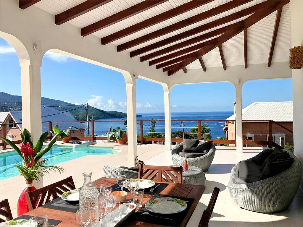 Villa stefie Terrasse