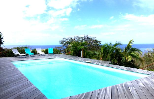 Espace piscine Villa Tilili