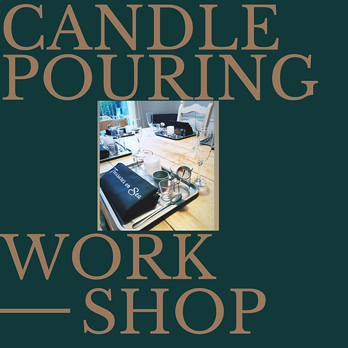 Candle Pouring Workshop - June dates
