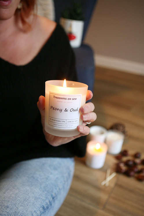 Luxury Soy Wax Candle - Various Scents