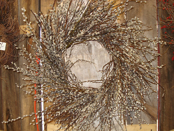 Pussywillow Wreath