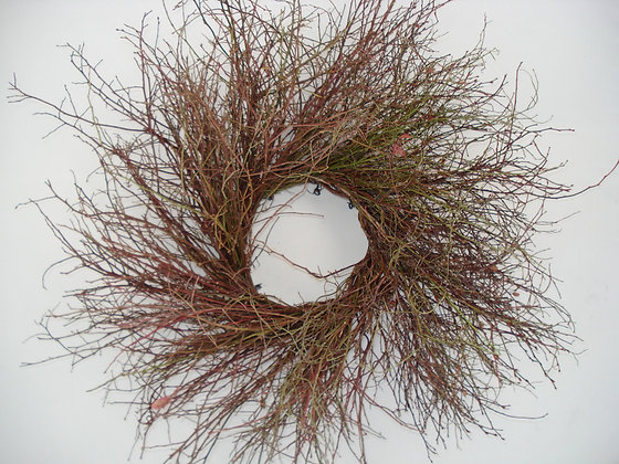 BlueberryTwig Wreath
