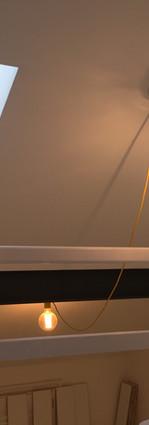 Extra light using draped flex cable