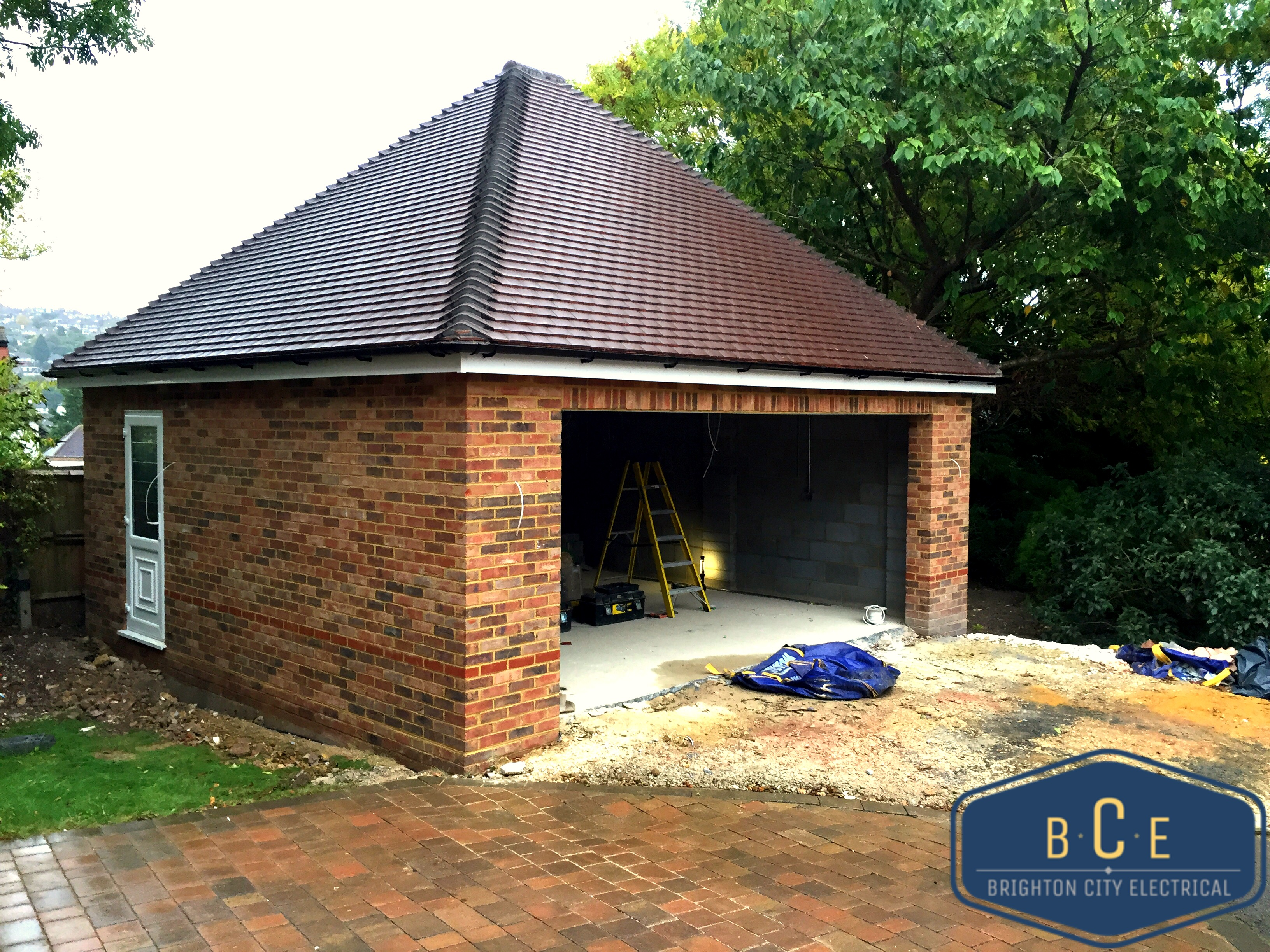 Garage installation - Patcham, Brigh