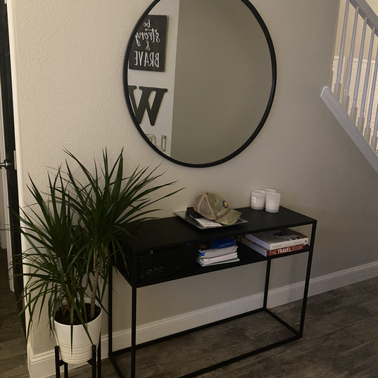 Garage entry table