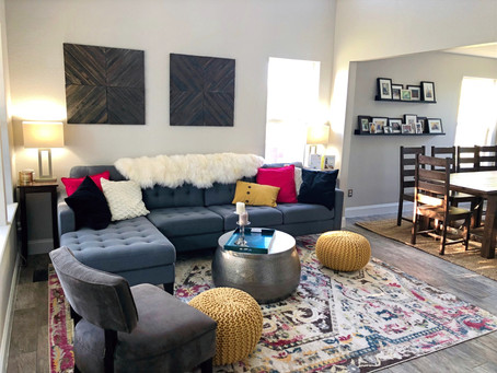 MAKING IT YOUR OWN: A HOME RENO