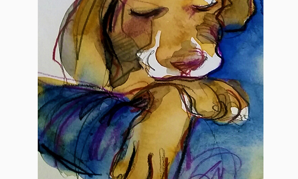 PAINTING - PUPPY LOVE