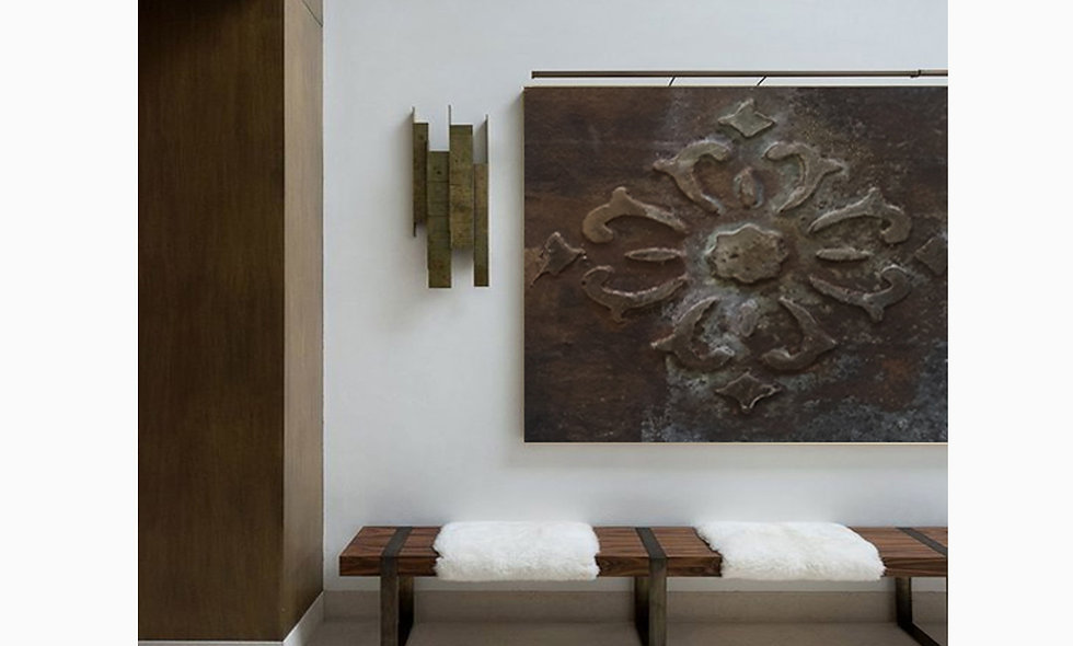 PLASTER - GIANT BAS RELIEF