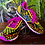 Thumbnail: Real Huichol Handmade Tennis Shoes