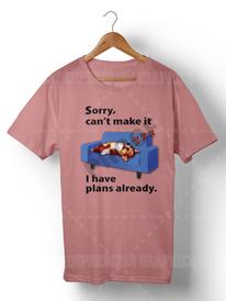 Custom Vector T-shirt Design and Mockup