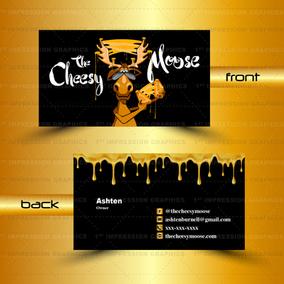 Custom Business Card - Vector Logo