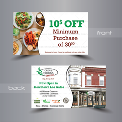 Coupon Design - Custom