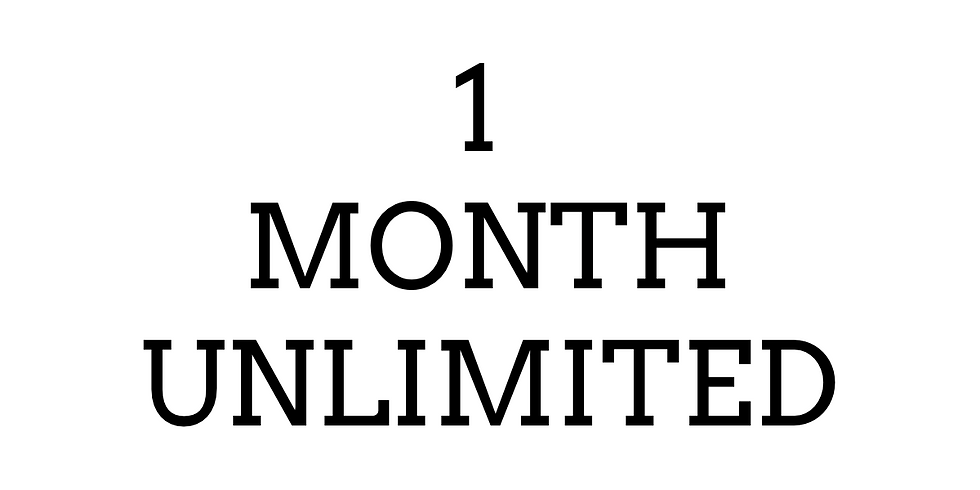 1 Month- Unlimited ($48)
