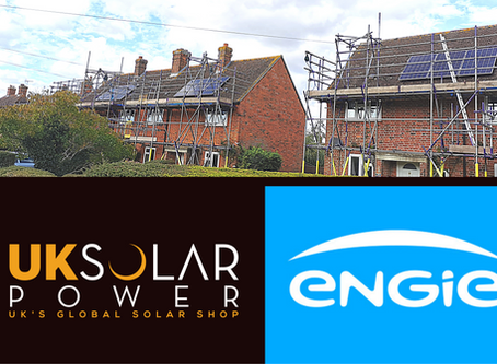 UK Recently completed 35 domestic solar installation