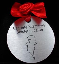 Geistermedaille (c) Gabriele Hasmann