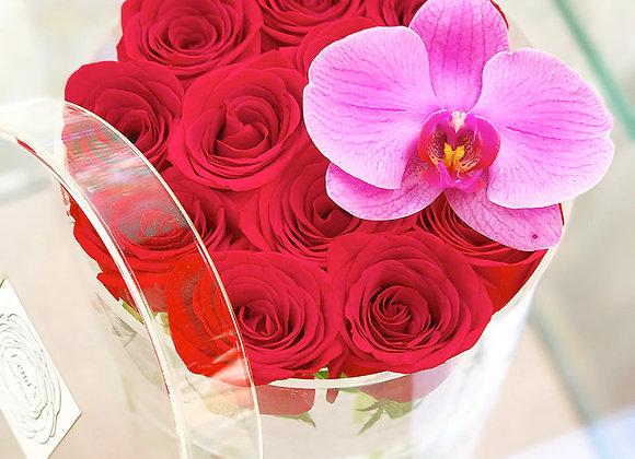 L'amour Parfait - 12 Red Roses