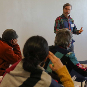 Ross Conrad presenting a Winter Conference Workshop