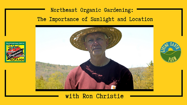NOFA-NH Organic Gardening Video - Tips o