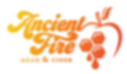 Ancient Fire full logo color on white fu