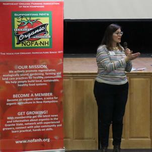 Amy Manzelli, NOFA-NH Board President