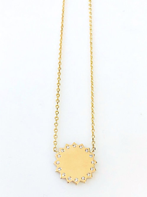 SunBurst Pendant Necklace