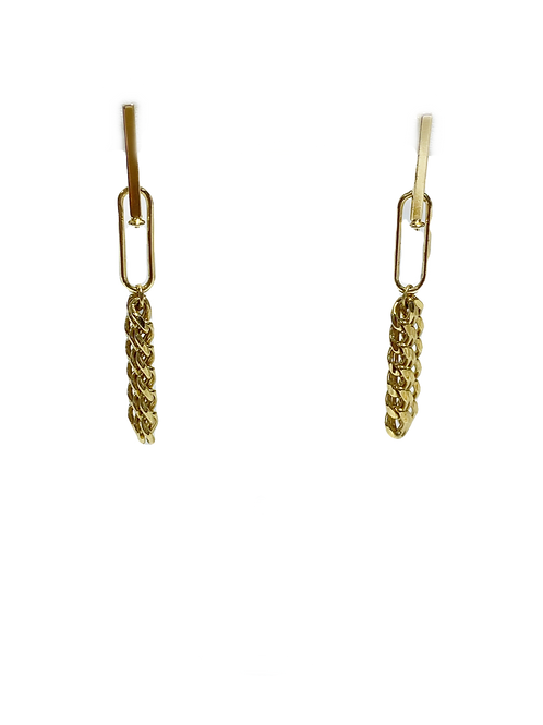 Chainy Drop Earring