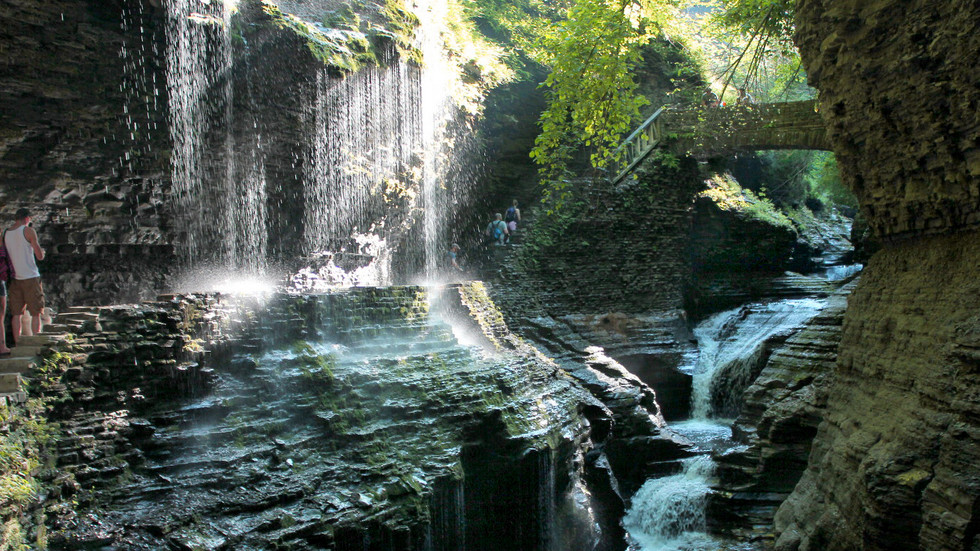 Hiking thru Middle Earth in Watkins Glen