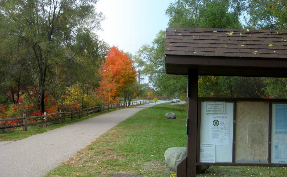 Cycling in Color - Fall on the White Pine Trail